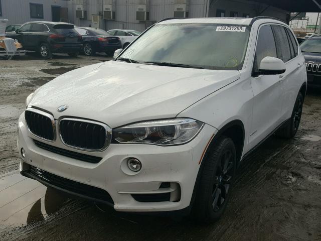 5UXKR2C56G0U17276 - 2016 BMW X5 SDRIVE3 WHITE photo 2