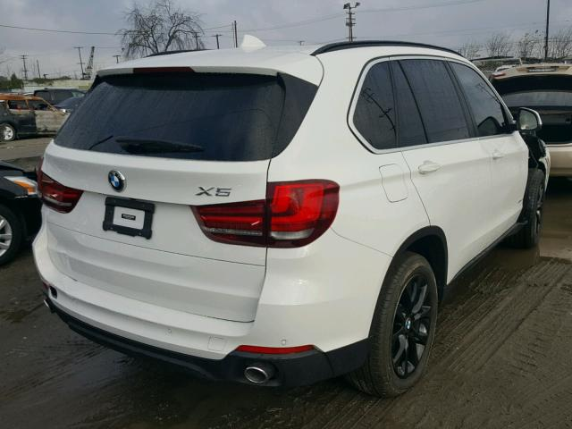 5UXKR2C56G0U17276 - 2016 BMW X5 SDRIVE3 WHITE photo 4