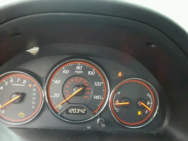 1HGEM22933L068542 - 2003 HONDA CIVIC EX RED photo 8