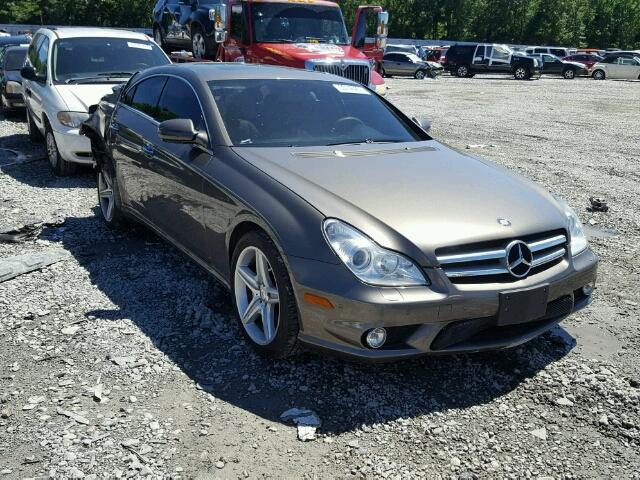 WDDDJ7CB6BA172752 - 2011 MERCEDES-BENZ CLS GRAY photo 1