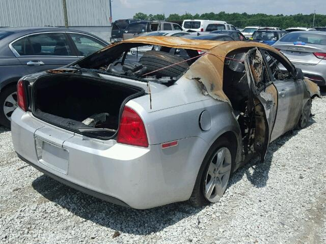 1G1ZA5E06A4117398 - 2010 CHEVROLET MALIBU LS BURN photo 4