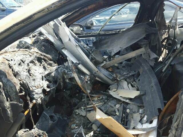 1G1ZA5E06A4117398 - 2010 CHEVROLET MALIBU LS BURN photo 5
