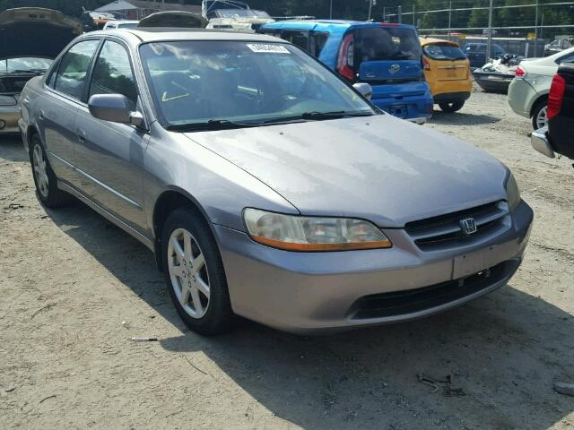 1HGCG1656YA022223 - 2000 HONDA ACCORD EX GRAY photo 1