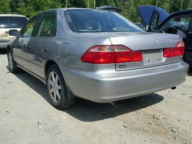 1HGCG1656YA022223 - 2000 HONDA ACCORD EX GRAY photo 3