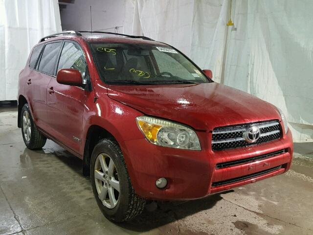 JTMBD31V265006807 - 2006 TOYOTA RAV4 LIMIT RED photo 1
