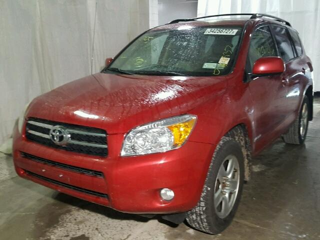 JTMBD31V265006807 - 2006 TOYOTA RAV4 LIMIT RED photo 2
