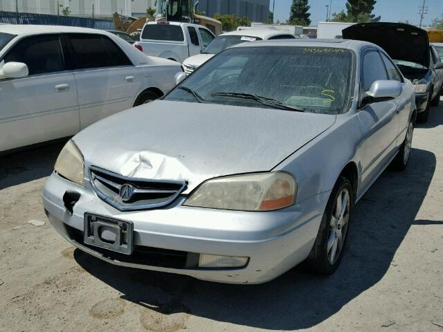 19UYA42711A025889 - 2001 ACURA 3.2CL TYPE SILVER photo 2