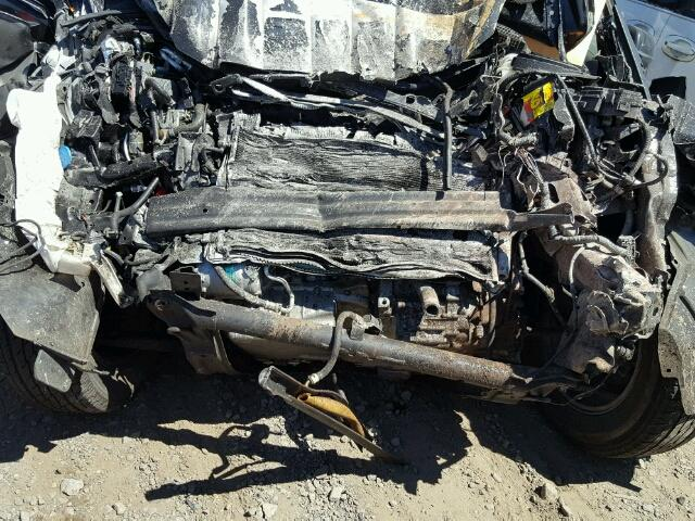 JHLRE48748C067084 - 2008 HONDA CR-V EXL BLACK photo 7