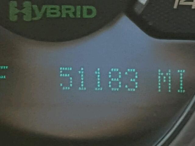1G1ZF57599F239456 - 2009 CHEVROLET MALIBU HYB BLUE photo 8