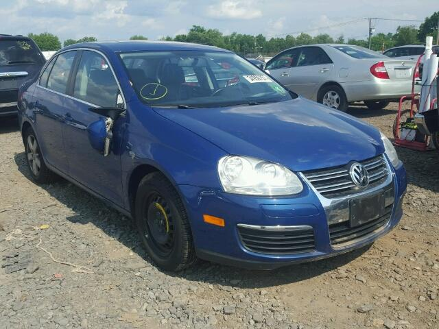 3VWRZ71K49M016831 - 2009 VOLKSWAGEN JETTA SE BLUE photo 1