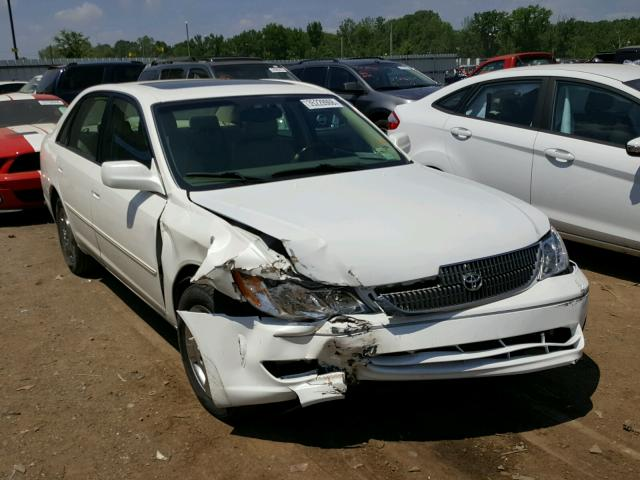 4T1BF28B83U295639 - 2003 TOYOTA AVALON XL WHITE photo 1