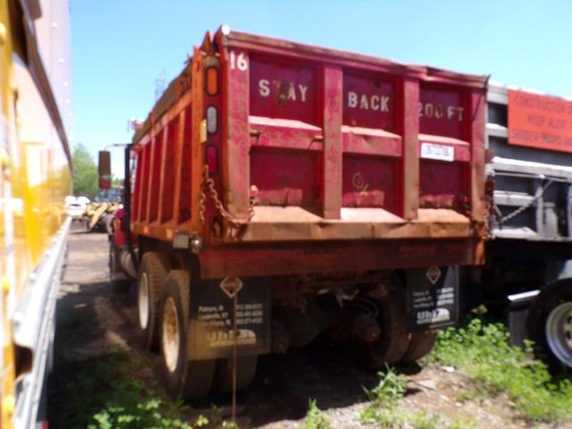 1HTWGAZT66J300091 - 2006 INTERNATIONAL 7000 7400 RED photo 4