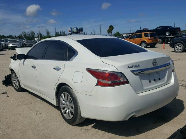 1N4AL3AP4FN378400 - 2015 NISSAN ALTIMA 2.5 WHITE photo 3