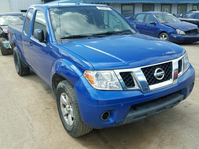 1N6AD0CU8DN753403 - 2013 NISSAN FRONTIER S BLUE photo 1