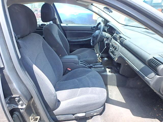 1B3EL36TX4N181635 - 2004 DODGE STRATUS SE GRAY photo 5