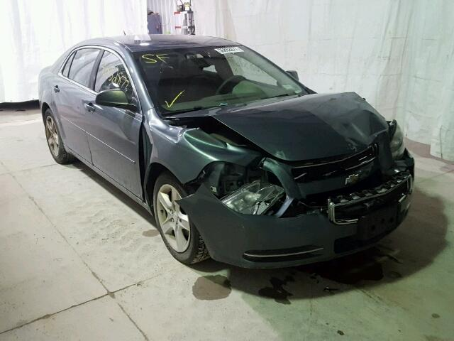 1G1ZG57B294174660 - 2009 CHEVROLET MALIBU LS GREEN photo 1