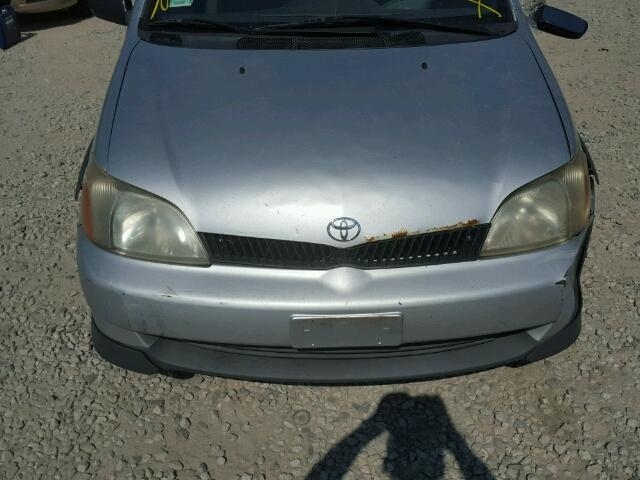 JTDBT123610193785 - 2001 TOYOTA ECHO SILVER photo 7