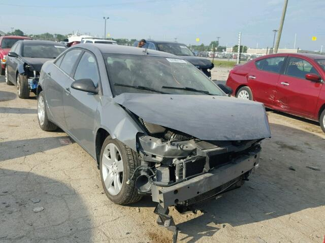 1G2ZG57B894123207 - 2009 PONTIAC G6 GRAY photo 1