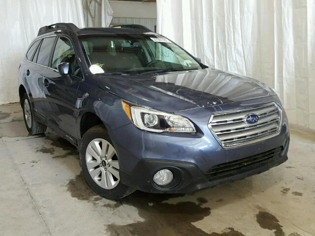 4S4BSACC5F3318178 - 2015 SUBARU OUTBACK 2. BLUE photo 1