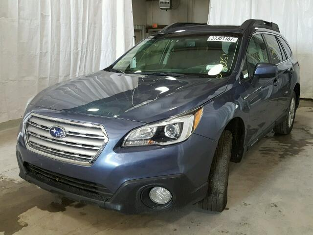 4S4BSACC5F3318178 - 2015 SUBARU OUTBACK 2. BLUE photo 2