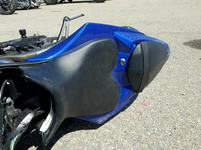 JYARN23E2CA013841 - 2012 YAMAHA YZFR1 BLUE photo 6