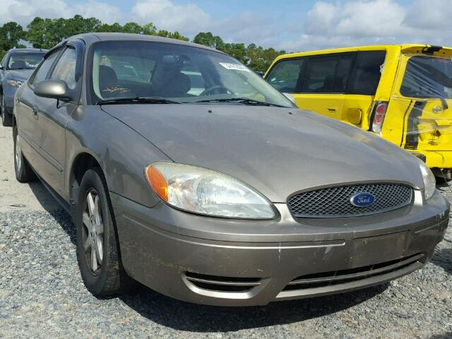 1FAFP56U57A196587 - 2007 FORD TAURUS SEL TAN photo 1