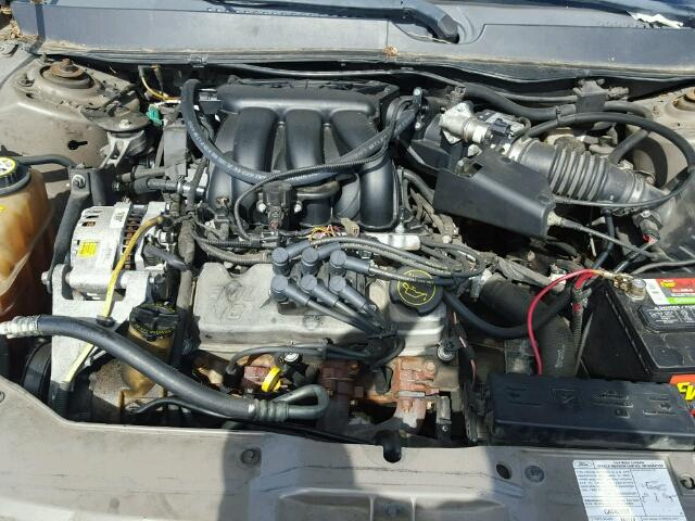1FAFP56U57A196587 - 2007 FORD TAURUS SEL TAN photo 7
