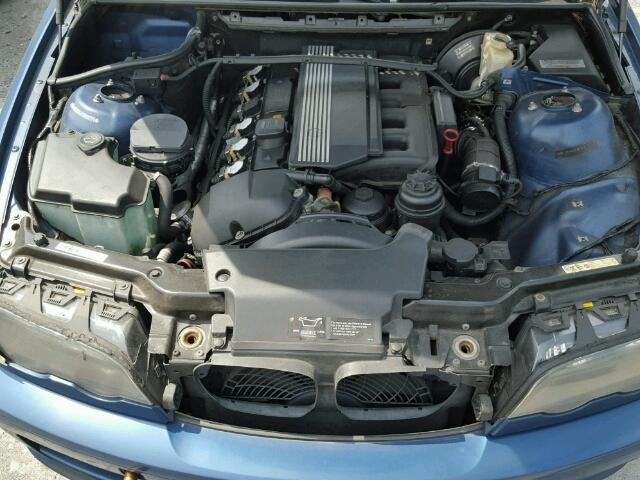WBABN33441JW59170 - 2001 BMW 325 CI BLUE photo 7