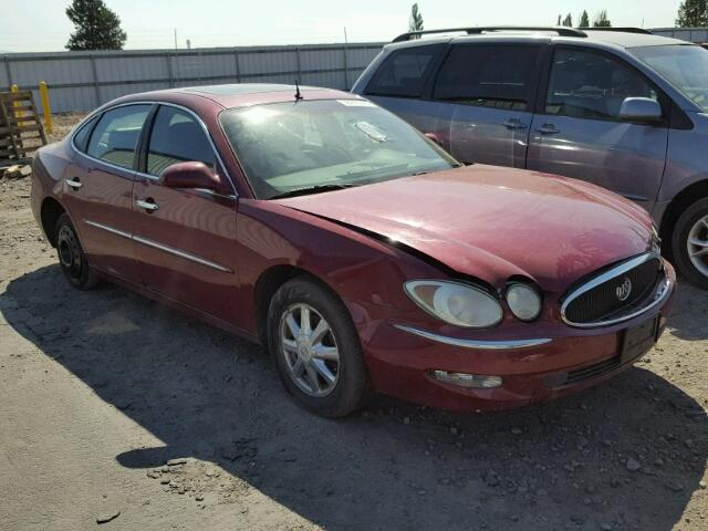 2G4WD532X51325402 - 2005 BUICK LACROSSE C MAROON photo 1