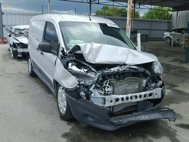 NM0LE7E73E1139647 - 2014 FORD TRANSIT CO SILVER photo 1