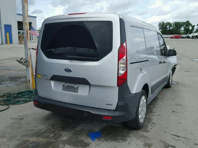 NM0LE7E73E1139647 - 2014 FORD TRANSIT CO SILVER photo 4