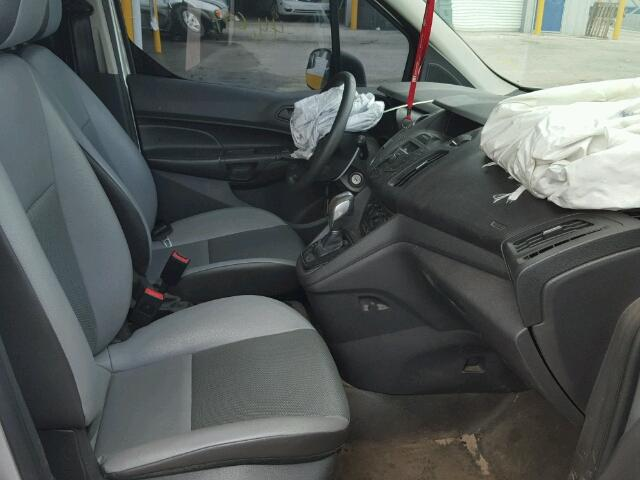 NM0LE7E73E1139647 - 2014 FORD TRANSIT CO SILVER photo 5