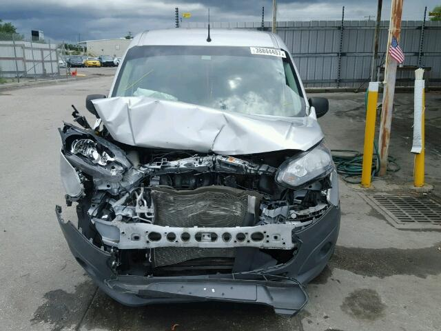 NM0LE7E73E1139647 - 2014 FORD TRANSIT CO SILVER photo 9