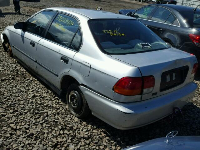 1HGEJ6678VL024564 - 1997 HONDA CIVIC LX GRAY photo 3