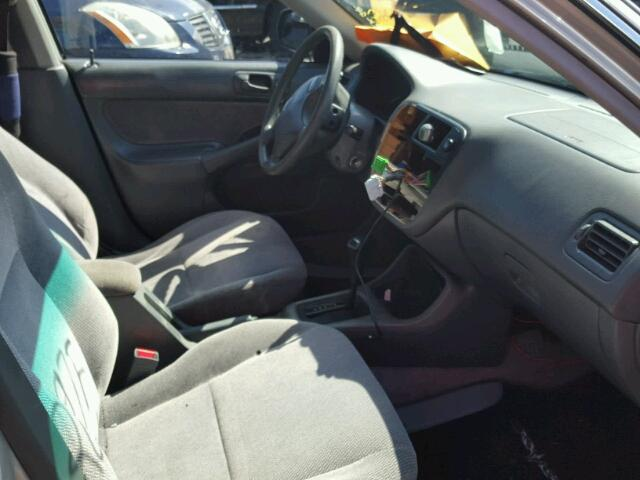 1HGEJ6678VL024564 - 1997 HONDA CIVIC LX GRAY photo 5