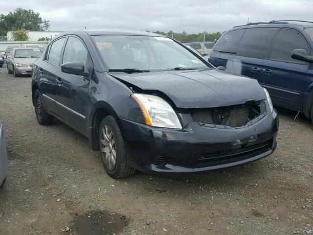 3N1AB6APXCL703757 - 2012 NISSAN SENTRA 2.0 BLACK photo 1