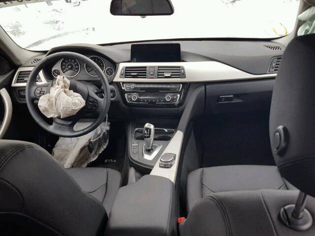 WBA8E5G53GNT40546 - 2016 BMW 320 XI WHITE photo 9