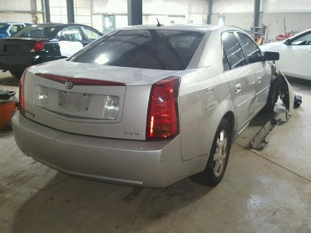 1G6DM57T560201164 - 2006 CADILLAC CTS SILVER photo 4