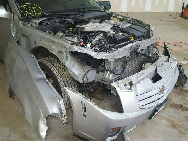 1G6DM57T560201164 - 2006 CADILLAC CTS SILVER photo 9