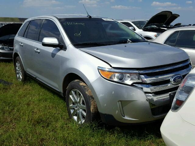 2FMDK3KC0CBA08960 - 2012 FORD EDGE LIMIT SILVER photo 1