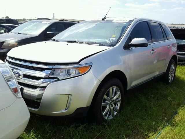 2FMDK3KC0CBA08960 - 2012 FORD EDGE LIMIT SILVER photo 2