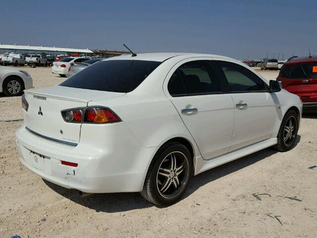 JA32U2FU3BU035659   2011 MITSUBISHI LANCER ES/ WHITE Photo 4