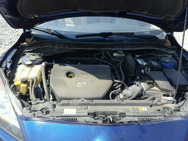 JM1BL1V66C1510614 - 2012 MAZDA 3 S BLUE photo 7