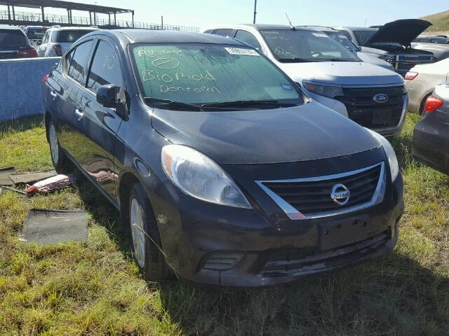 3n1cn7ap9el836034 2014 Nissan Versa Black Price History
