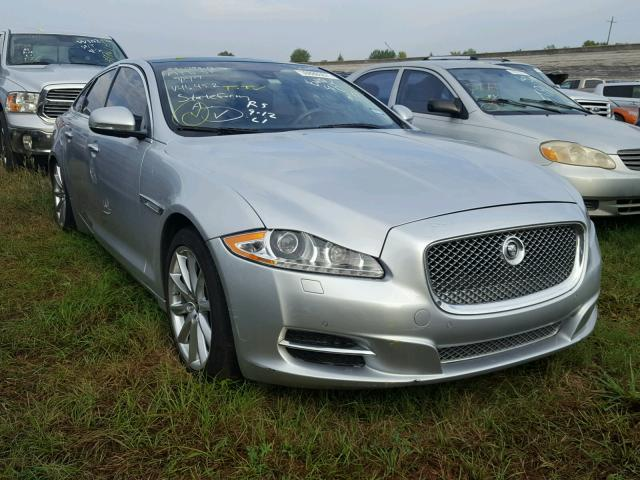 SAJWA1C73D8V46452   2013 JAGUAR XJ SILVER Photo 1
