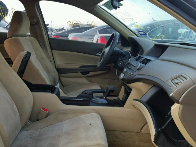 1HGCP26339A103721 - 2009 HONDA ACCORD LX BLACK photo 5