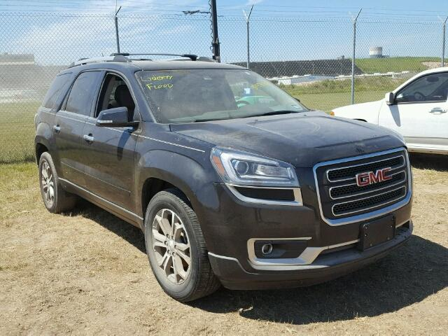 1GKKRRKD2EJ336449 - 2014 GMC ACADIA BLACK photo 1