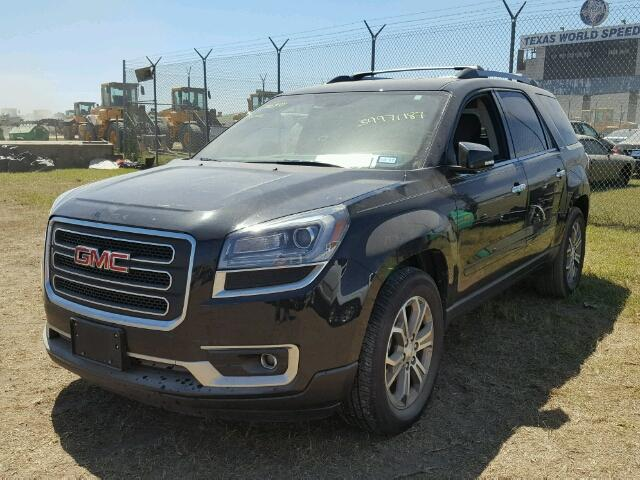 1GKKRRKD2EJ336449 - 2014 GMC ACADIA BLACK photo 2