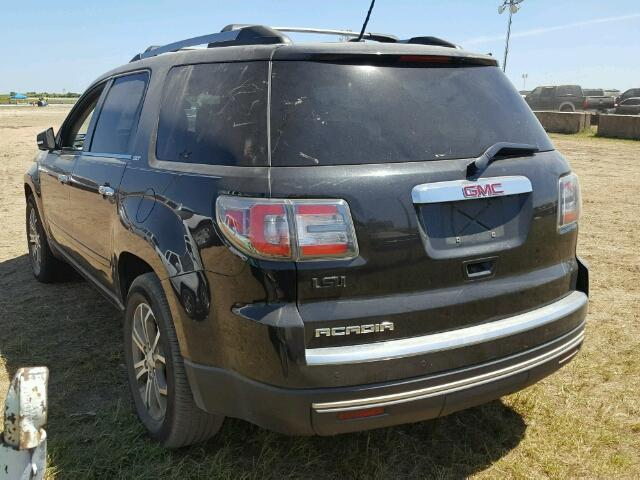 1GKKRRKD2EJ336449 - 2014 GMC ACADIA BLACK photo 3