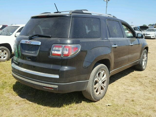 1GKKRRKD2EJ336449 - 2014 GMC ACADIA BLACK photo 4